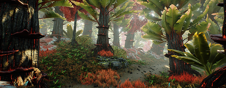 Eden Star: Reinventing Sci Fi and Environments