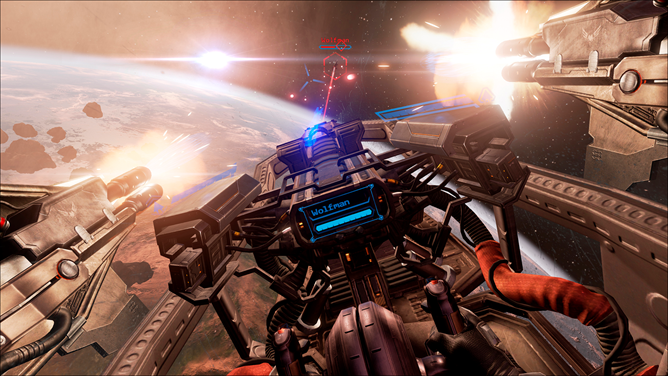 EVE: Valkyrie Screen