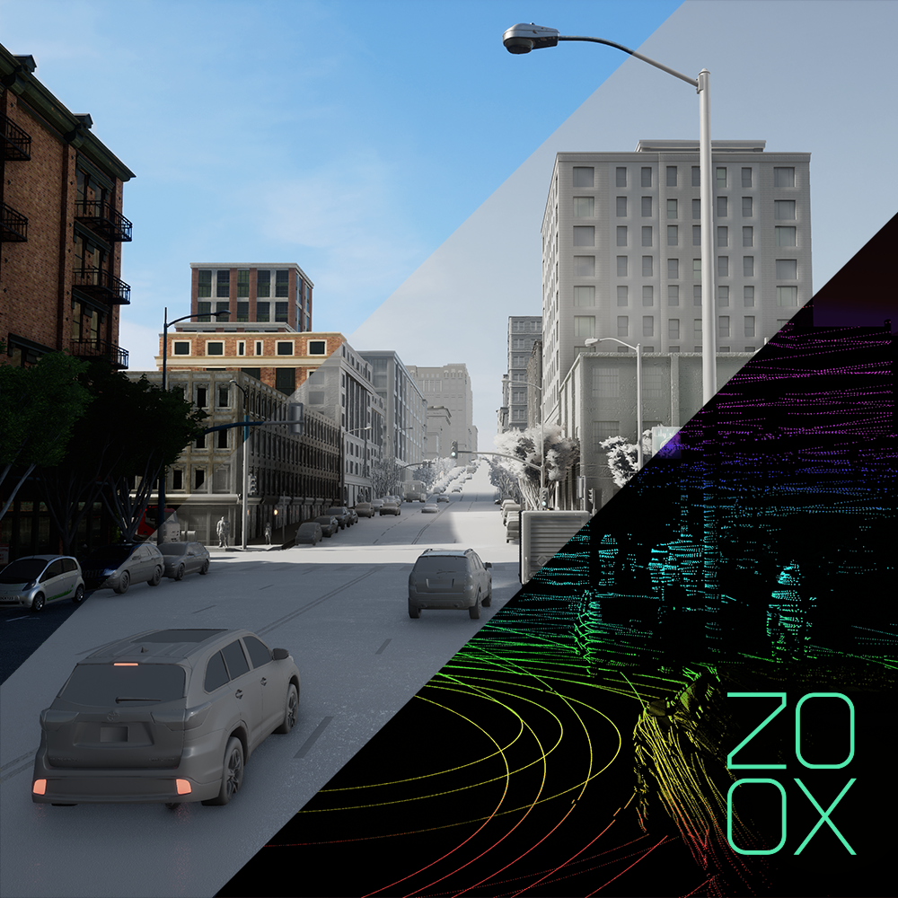 Simulation for autonomous driving with Zoox