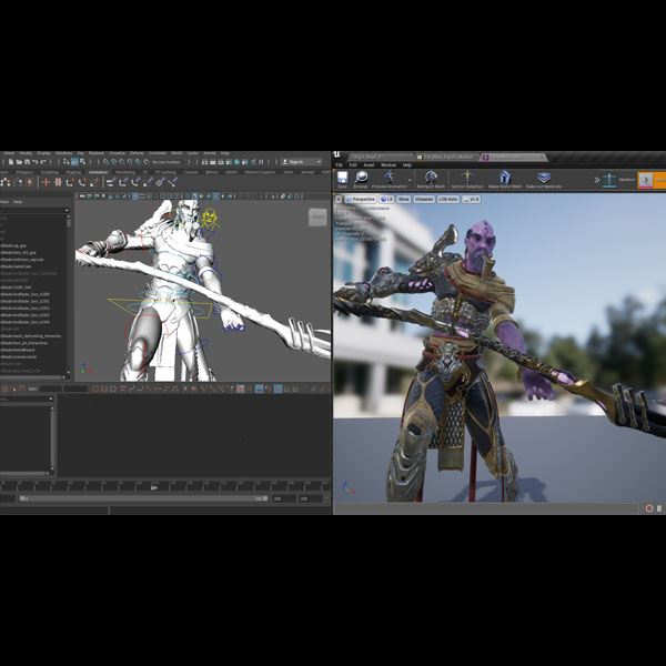 Connecting Maya to Unreal with LiveLink