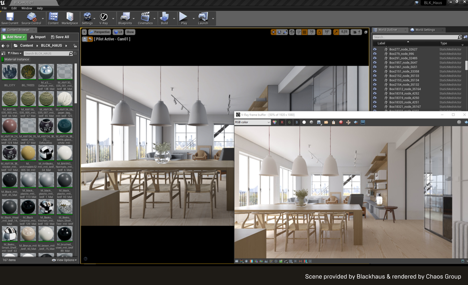 Chaos Group unveils V-Ray for Unreal