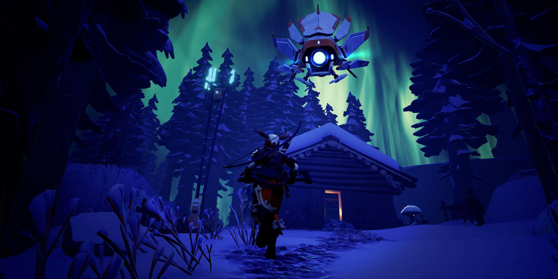 極寒の山岳地帯で生き残りをかけて繰り広げるバトルロイヤル ゲーム『Darwin Project』