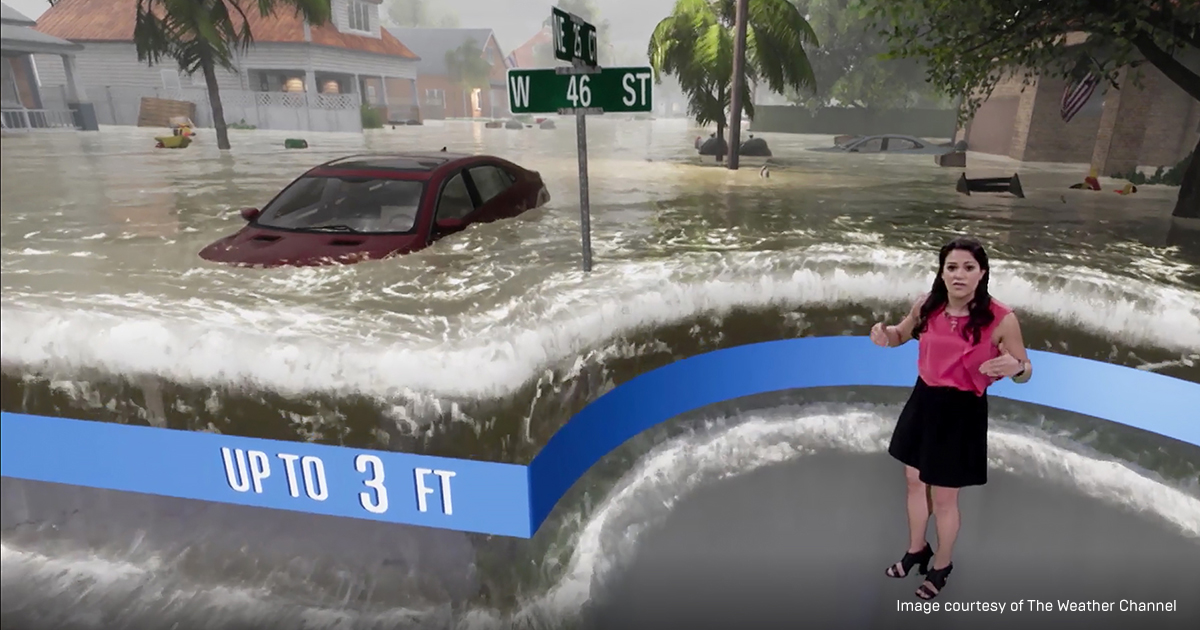 Floods and Fires: How The Weather Channel Uses Unreal Engine