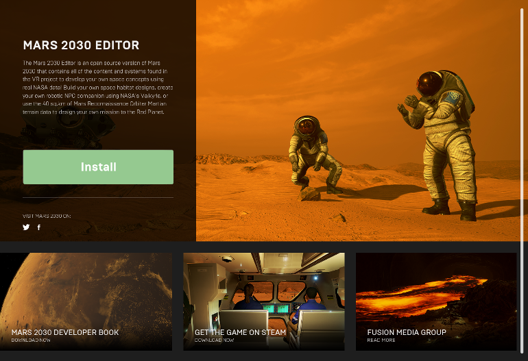 Welcome to the Mars 2030 Modding Community - Unreal Engine