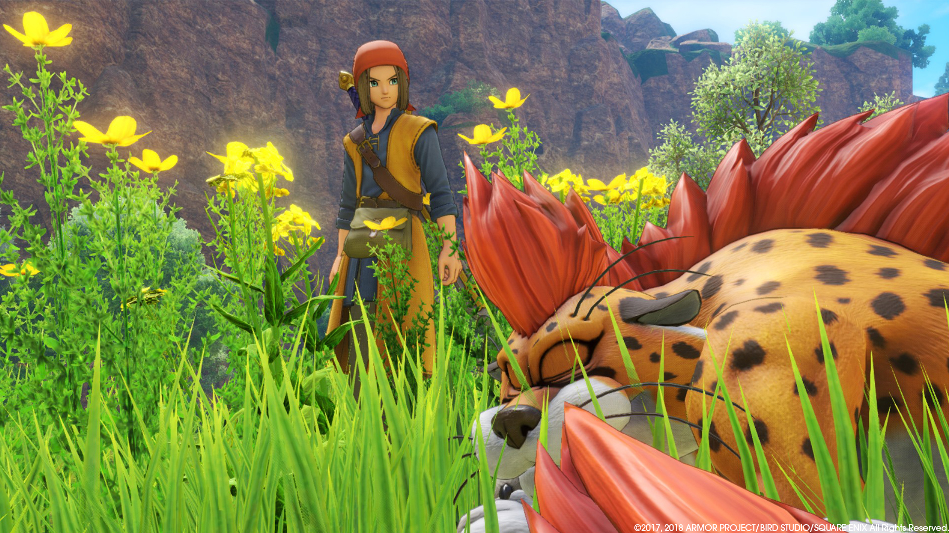 How Dragon Quest Xi Came To Life With Unreal Engine 4