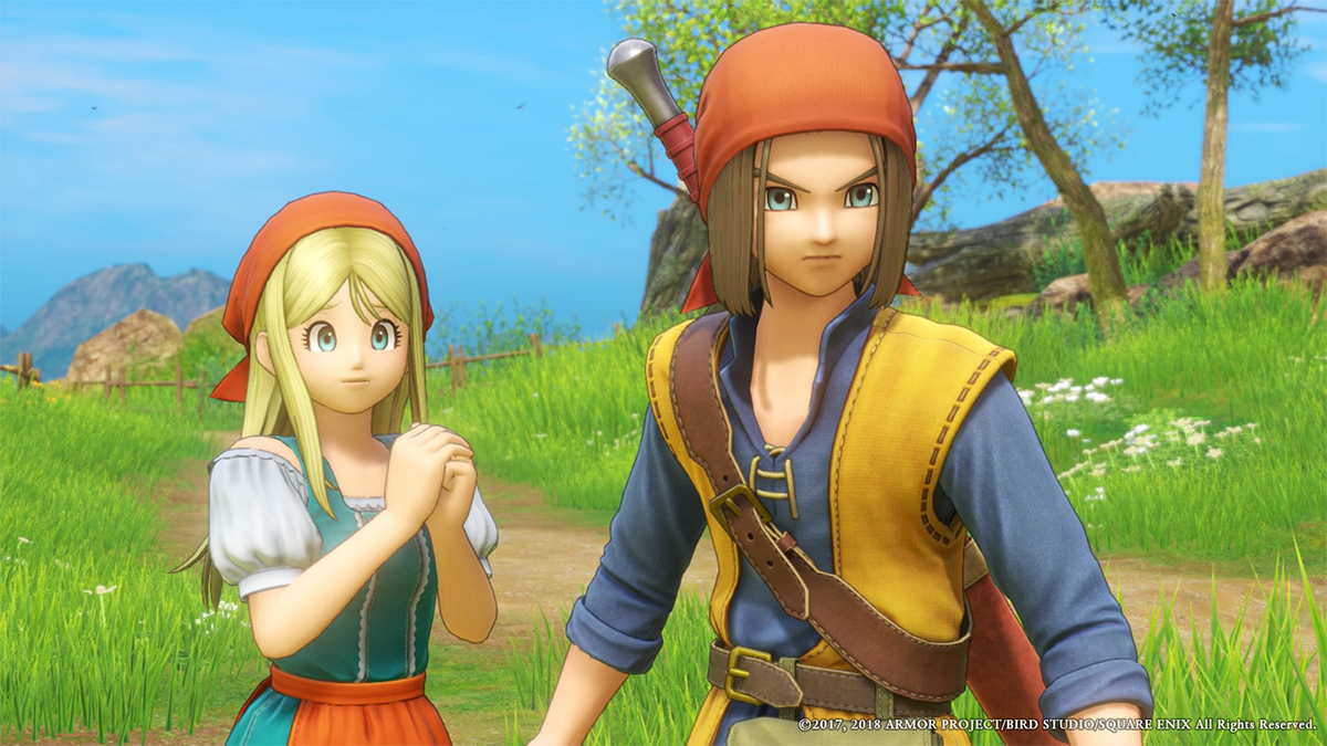 How dragon quest xi came to life with unreal engine 4.