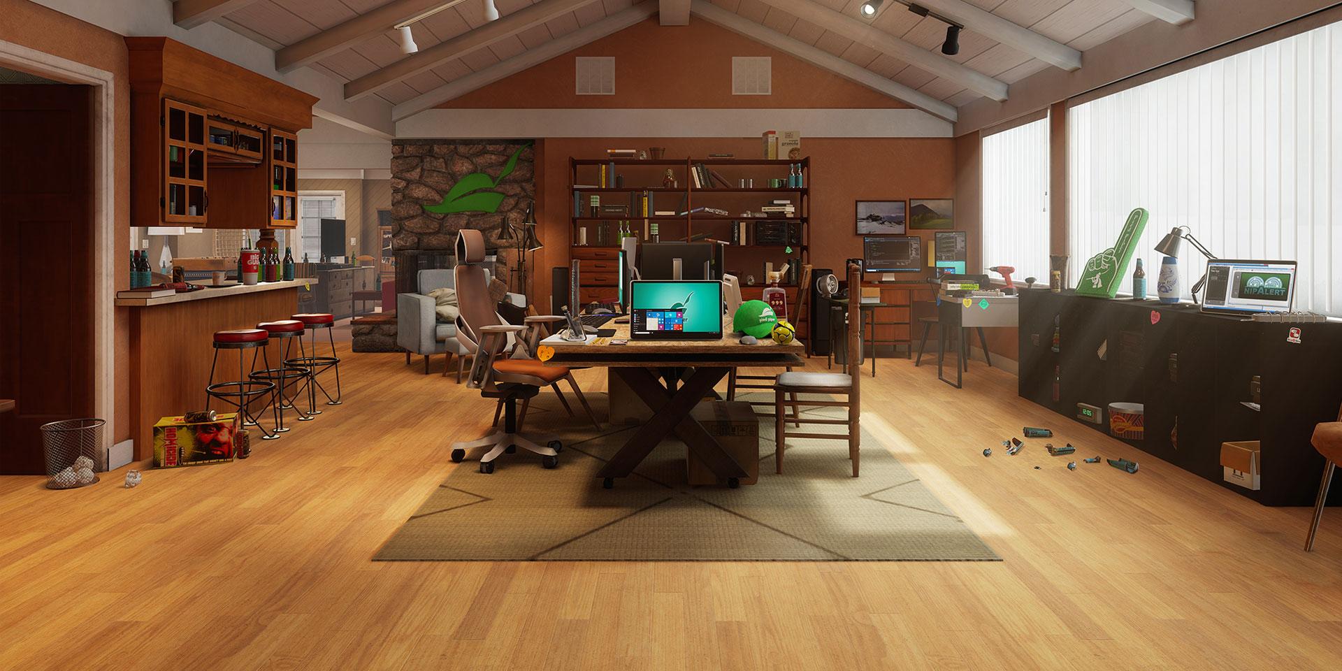 ドラマ『シリコンバレー』の世界を VR で忠実に再現した Silicon Valley: Inside the Hacker Hostel