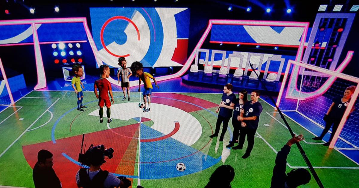IKINEMA and Unreal Engine Empower Globo's Live AR World Cup