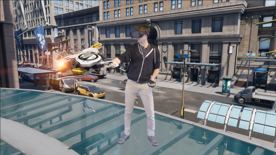 Immersing Users in Virtual Worlds with Mixed Reality Capture