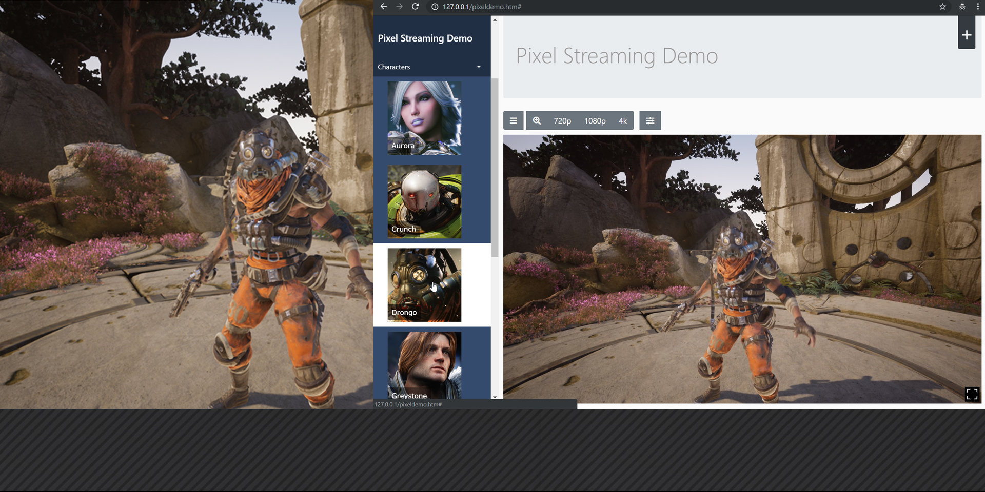 Pixel Streaming: delivering high-quality UE4 content to any