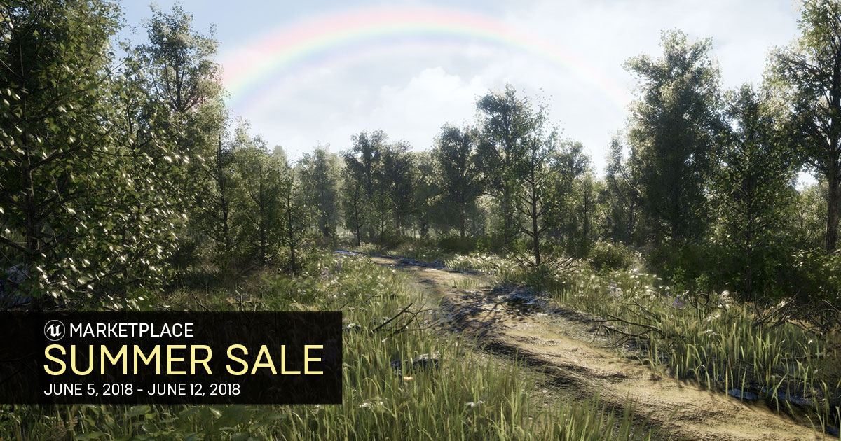 Save Big with the Unreal Engine Marketplace Summer Sale!