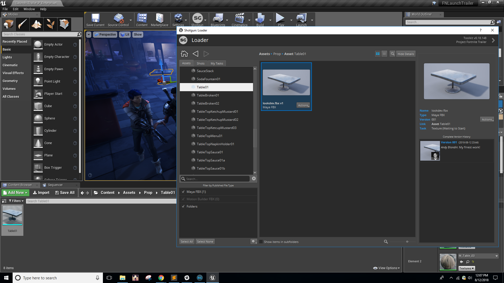 Shotgun Integration Now Available in Unreal Engine 4 20