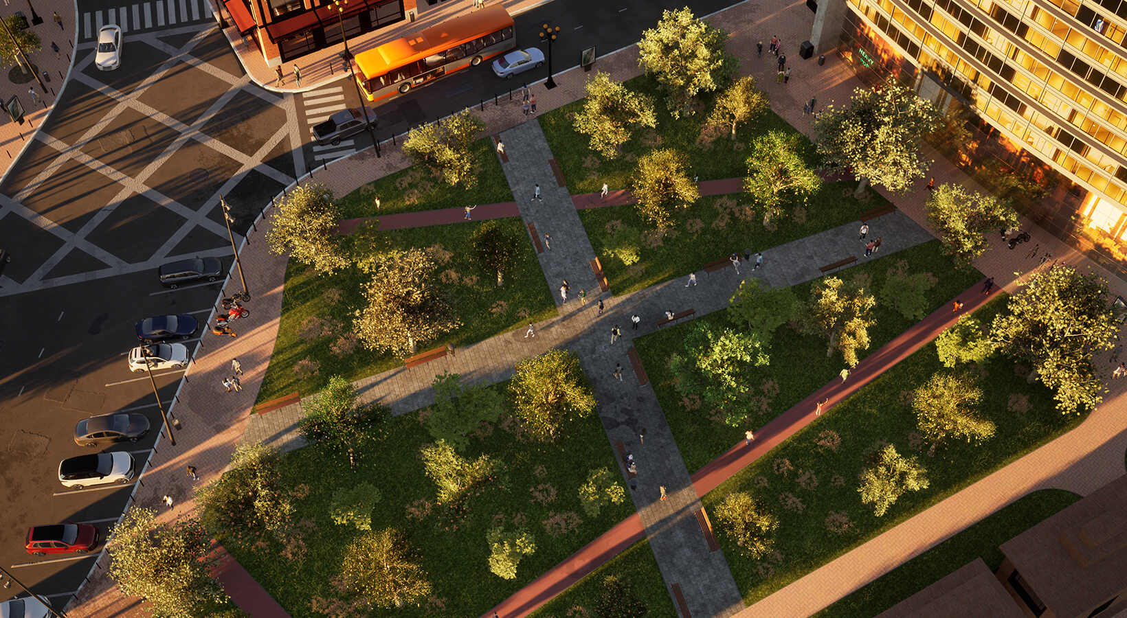 "Twinmotion Community Challenge #3: ""Green space in an urban jungle"""
