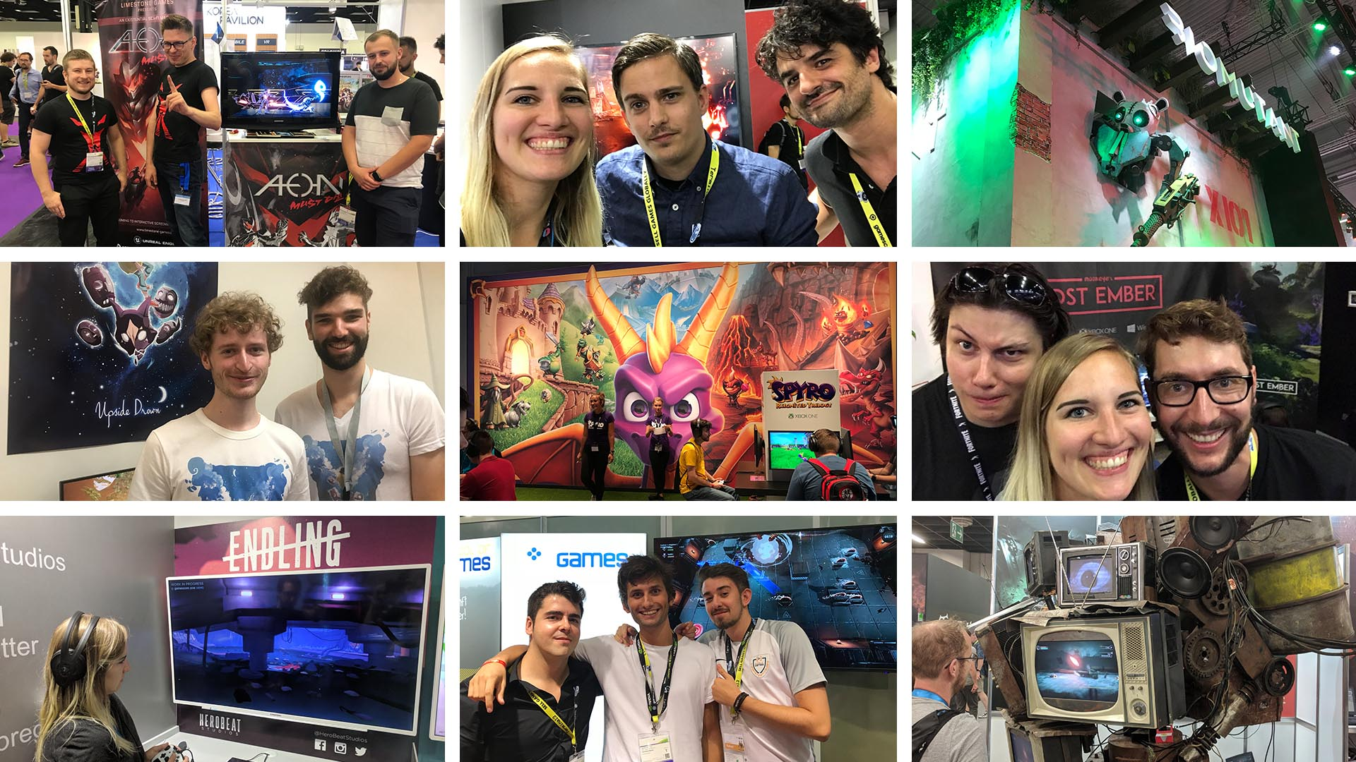 Unreal Engine Developers Converge at Gamescom 2018