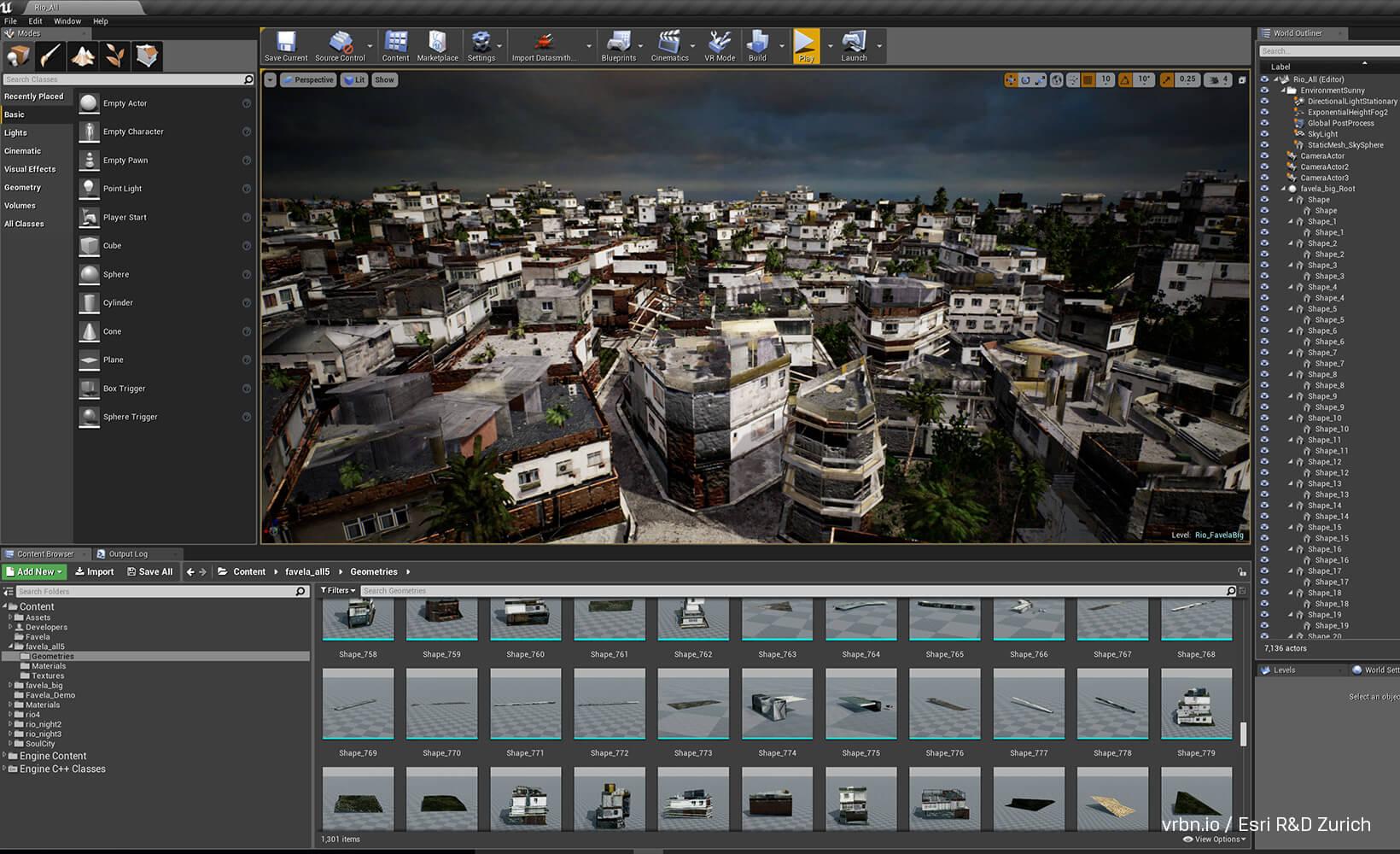 Unreal Studio Brings CityEngine Neighborhood to Life