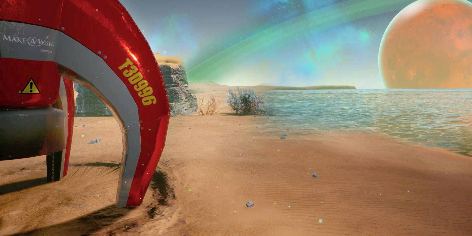 土星探検へ出発! 難病の子供の夢を叶える VR プロジェクト