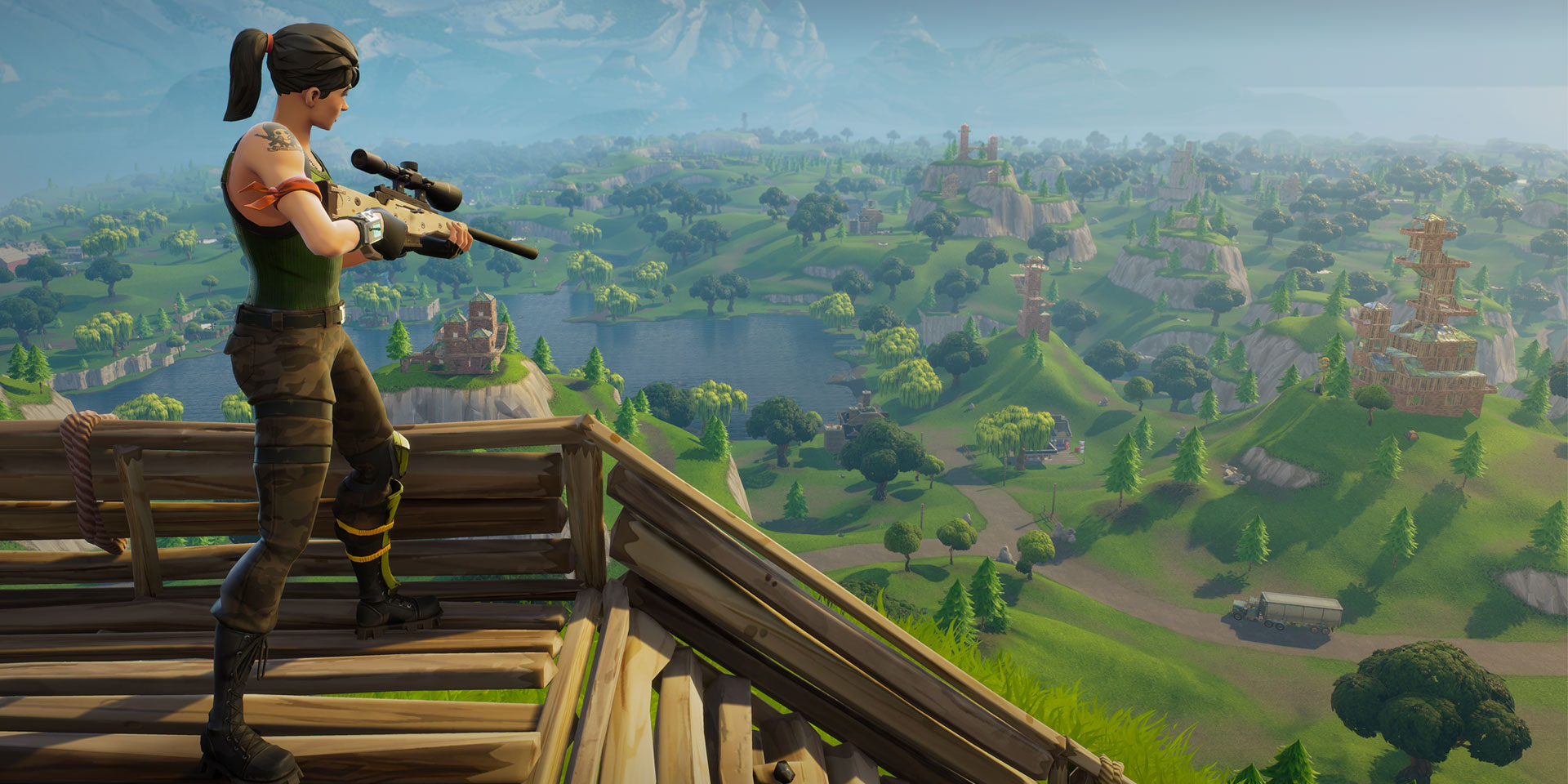 Unreal Engine Improvements for Fortnite: Battle Royale