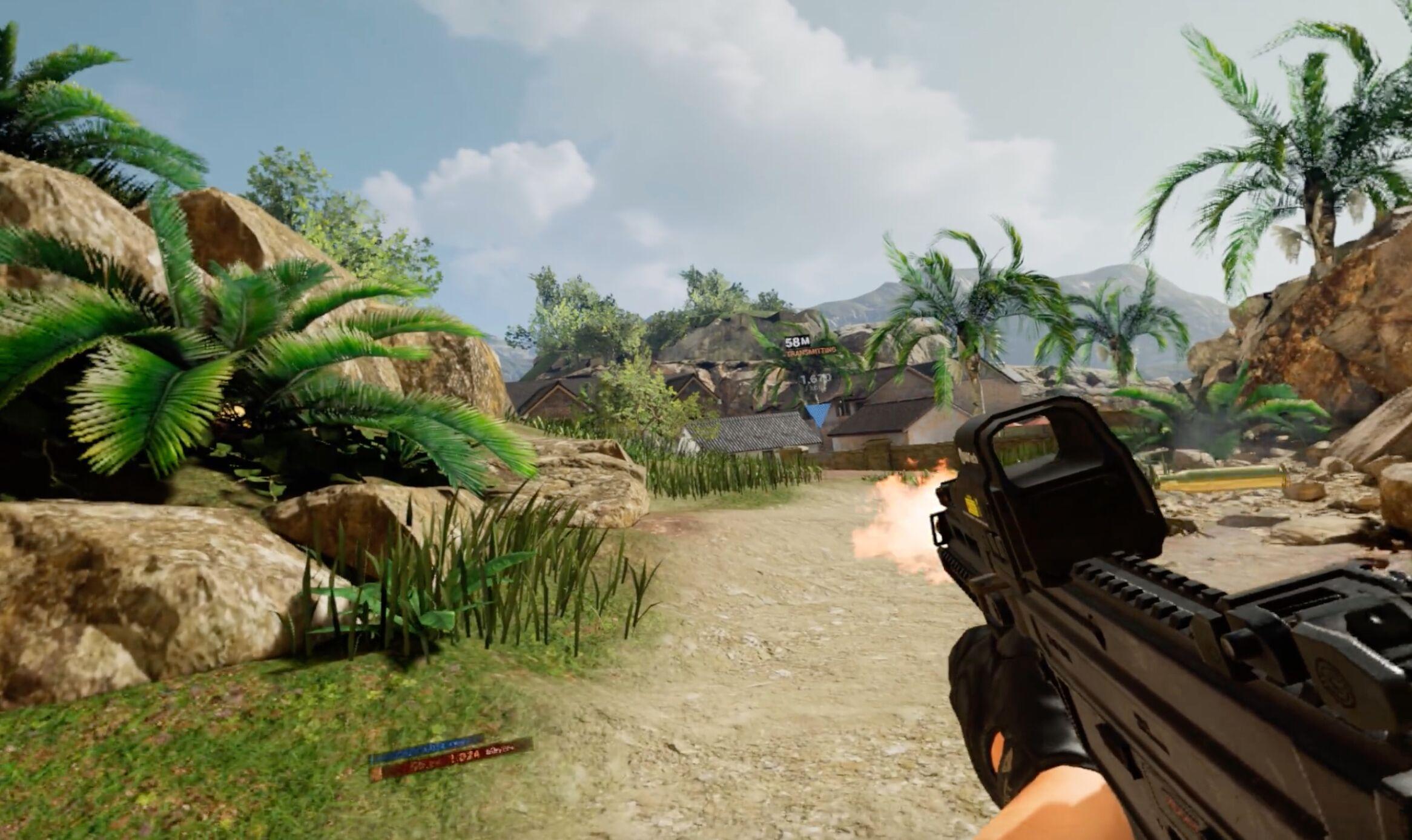 Contractors通过令人惊叹的画面和精心打磨的枪战要素推动vr射击游戏发展