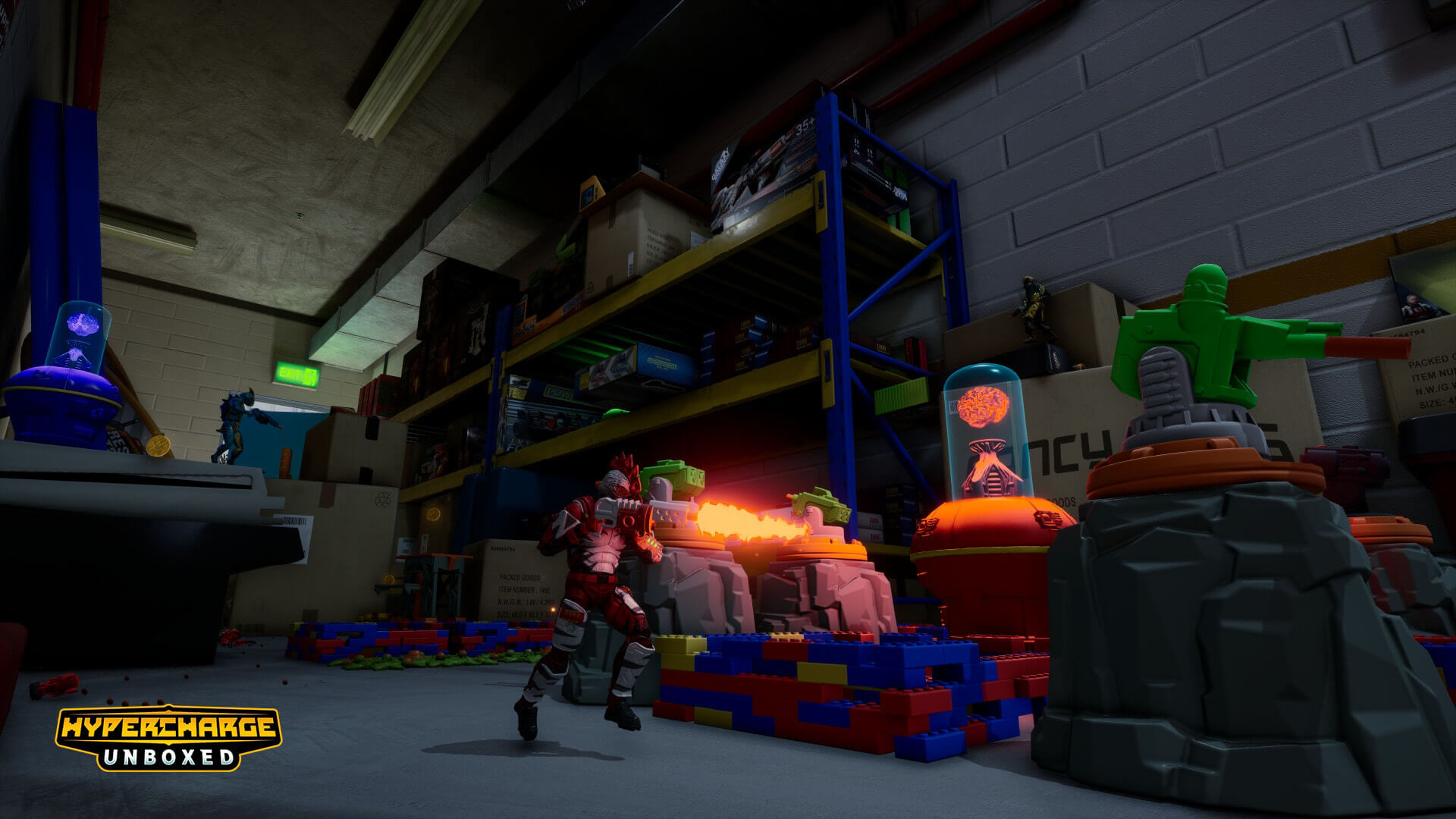 Armed with charm, HYPERCHARGE: Unboxed creates a compelling