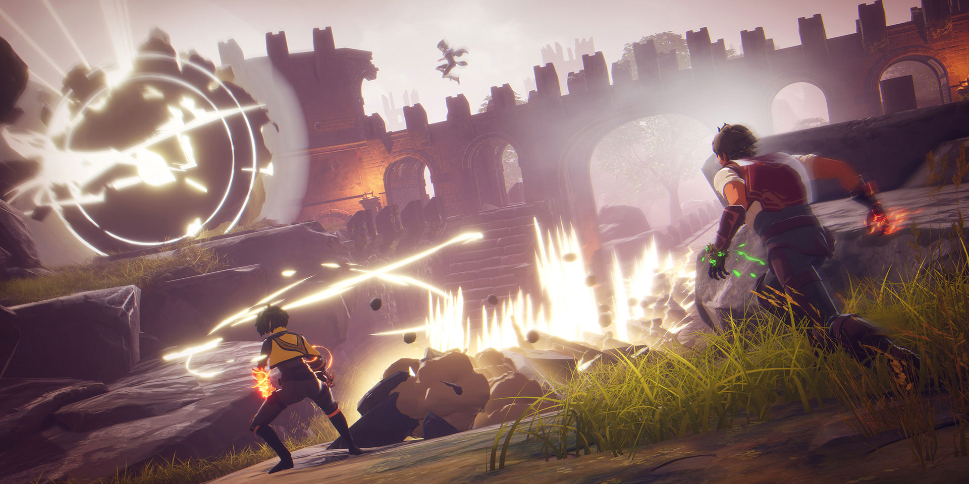 Spellbreak is a unique battle royale game that combines
