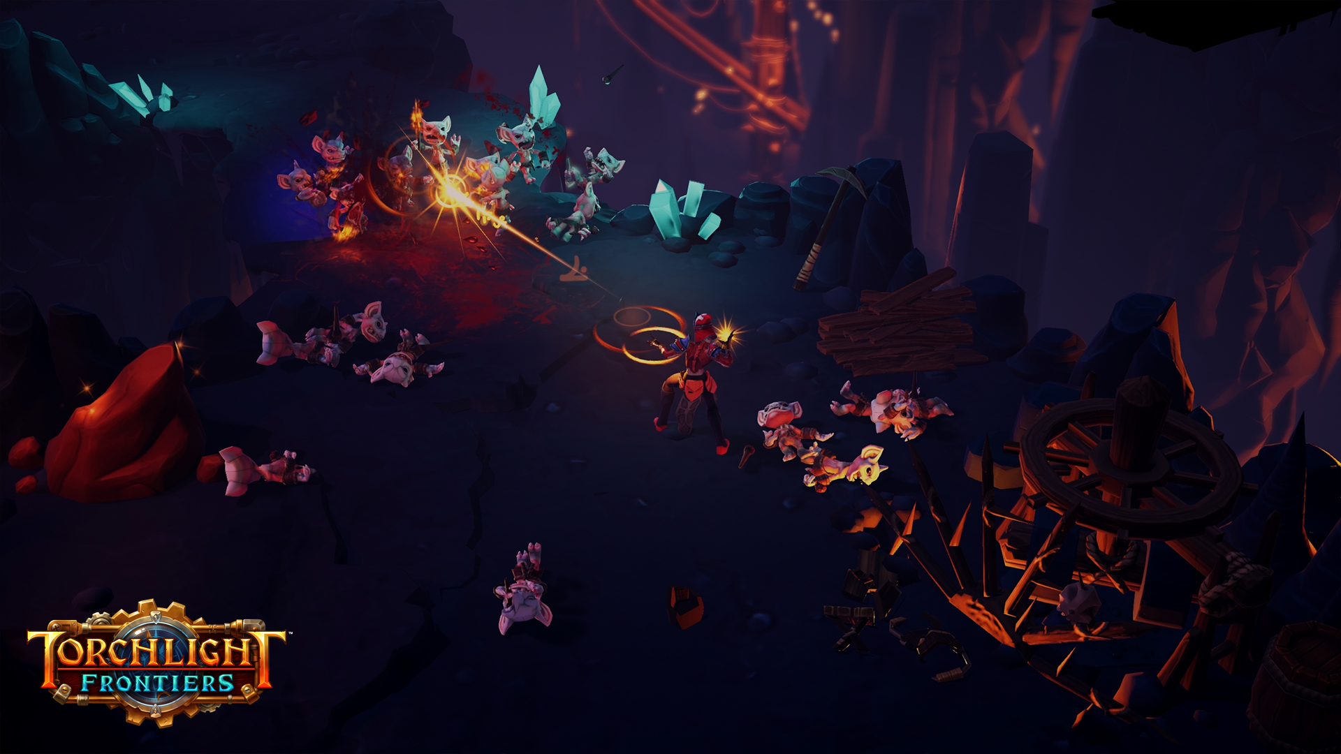 Torchlight Frontiers aims evolve action RPG MMOs novel ways