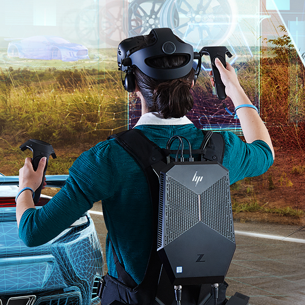 HP Commercial VR