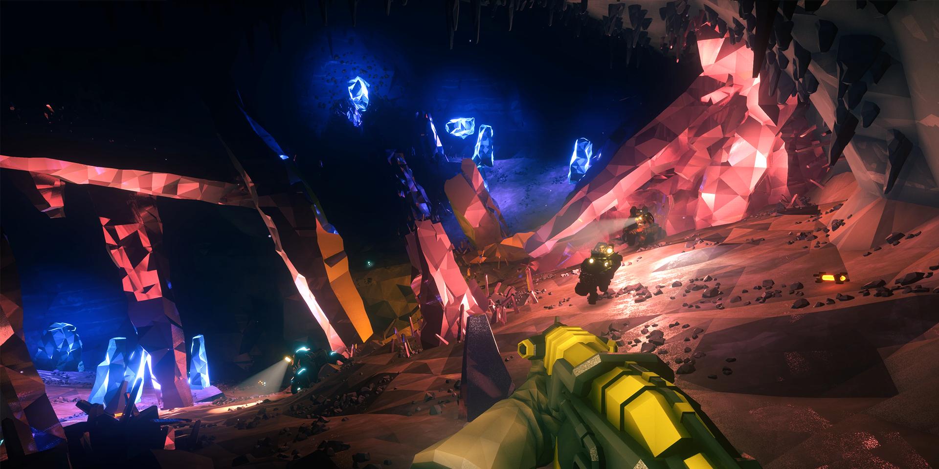 ドワーフ達が銃を携えて危険な宇宙の鉱山に挑む『Deep Rock Galactic』制作ストーリー