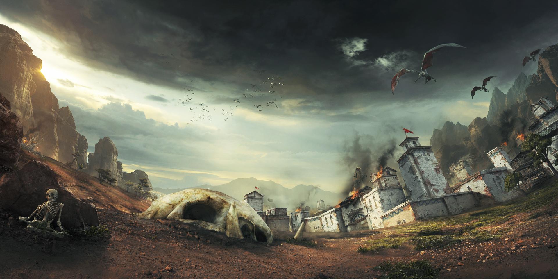 戦闘ゲームのプロ集団 Iron Galaxy が作り出す『Extinction』のファンタジーの世界