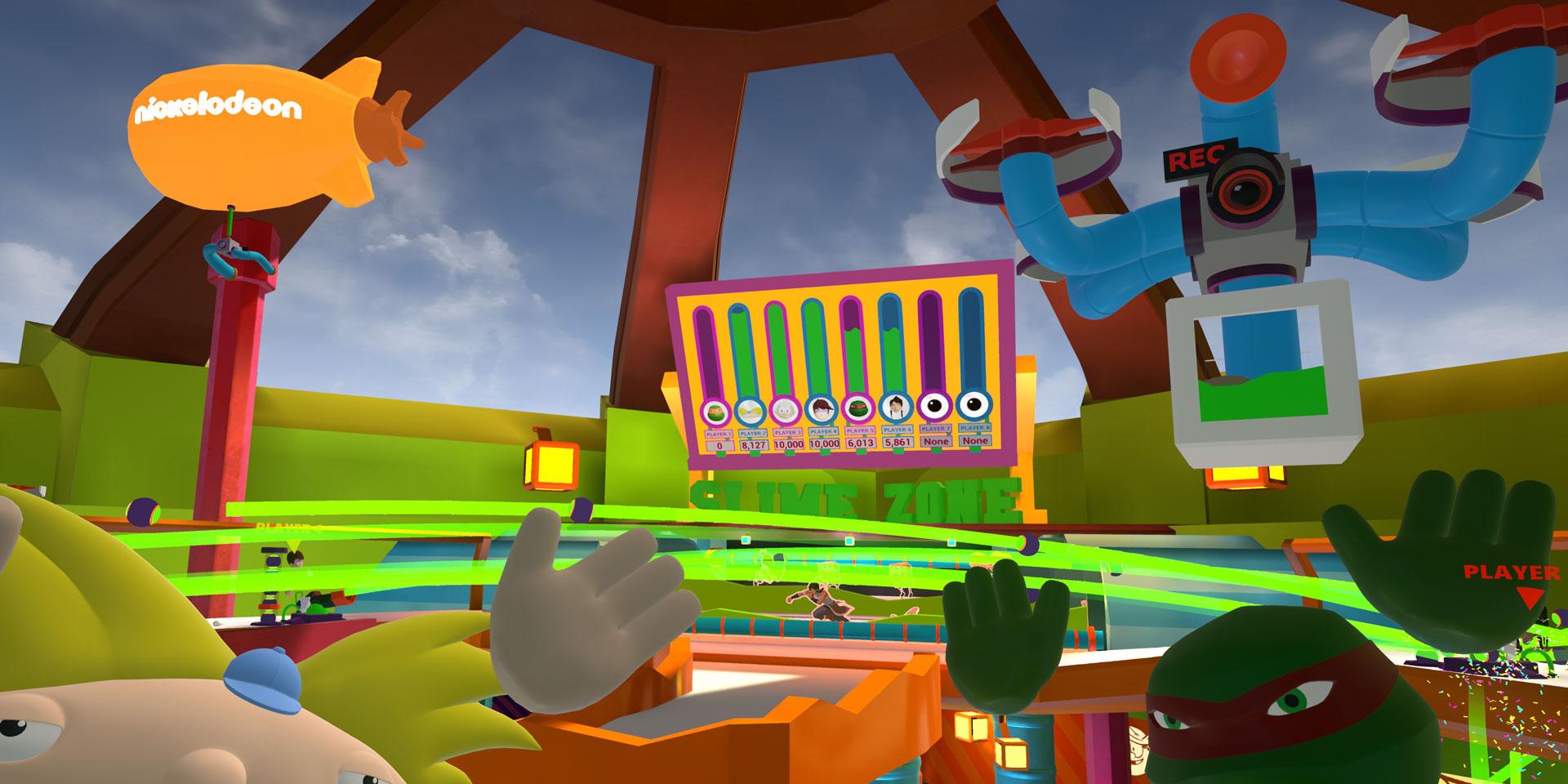 ニコロデオンの世界で遊べる『SlimeZone』 まずは MAX Center に初登場