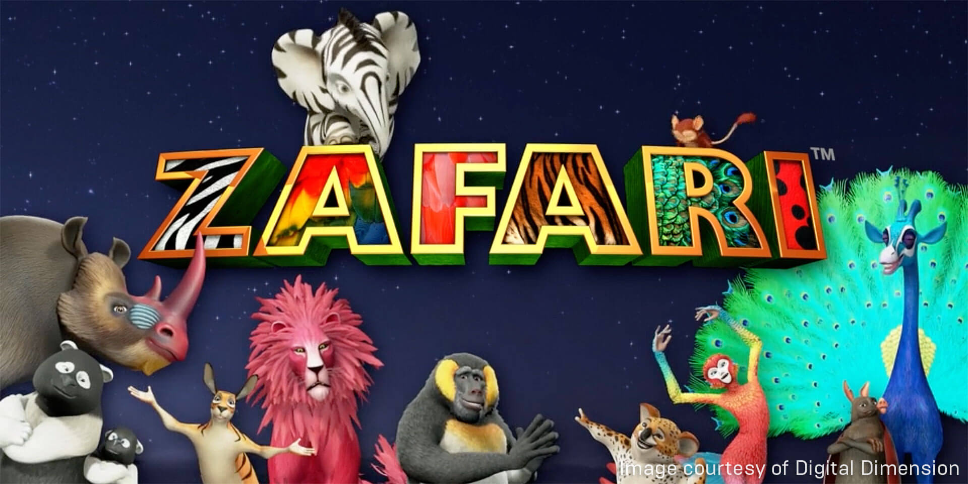 Animated Children's Series ZAFARI Springs to Life with