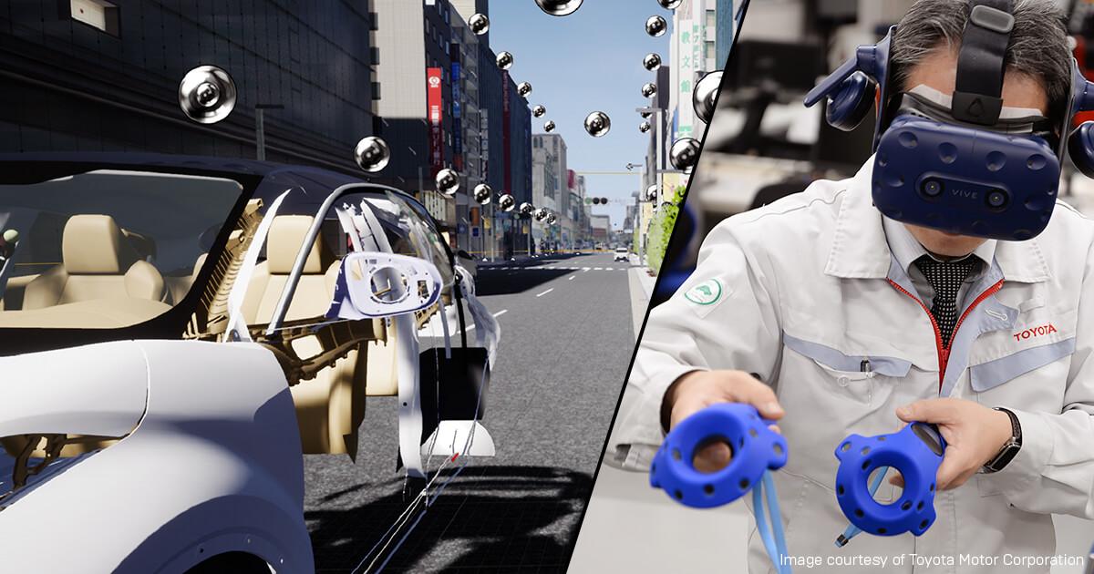 Toyota Evaluates Vehicle Ergonomics Utilizing Vr And Unreal Engine Unreal Engine