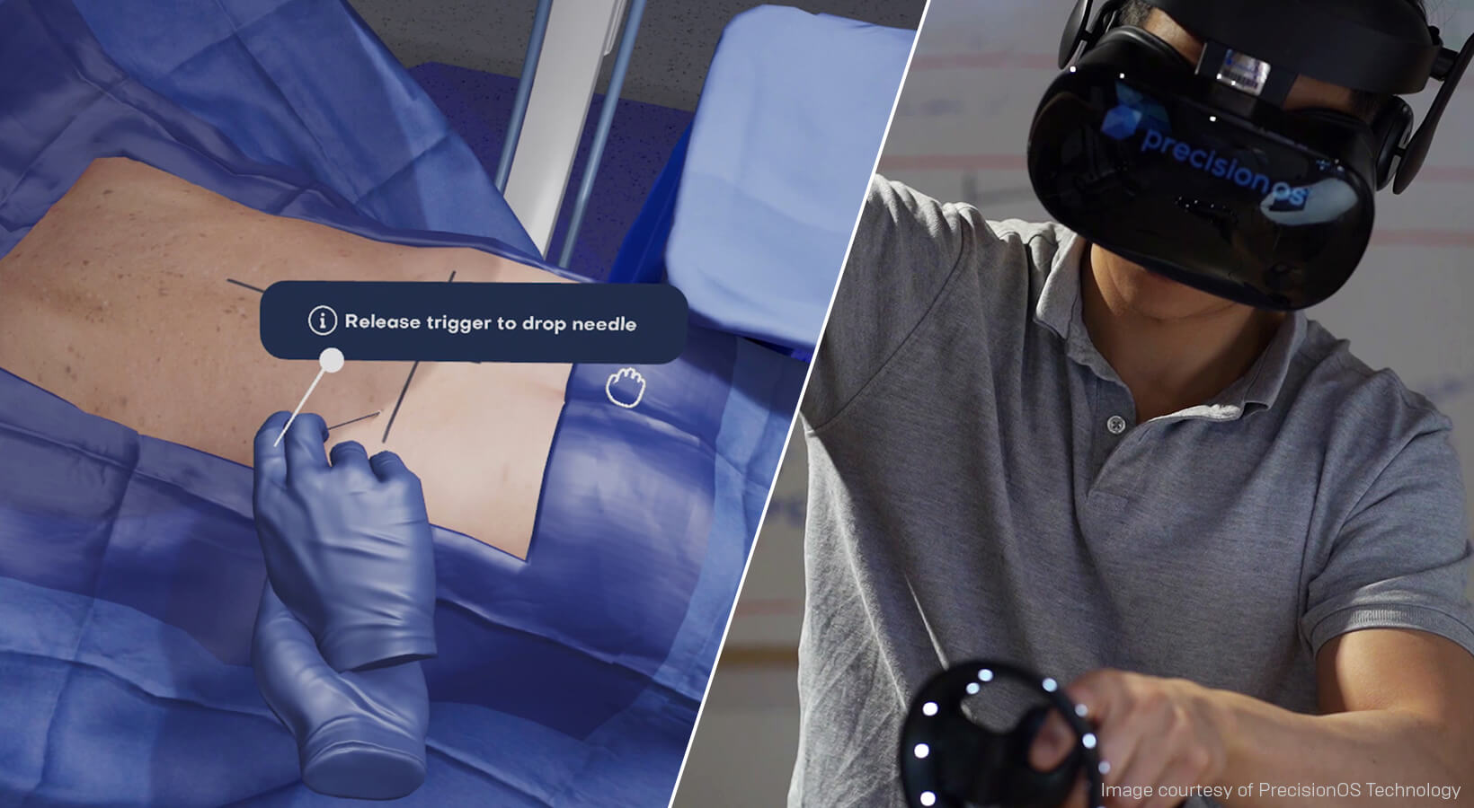 VR medical simulation from Precision OS trains surgeons five times faster