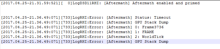 UnrealEngine%2Fblog%2Fhelping-us-track-down-gpu-hangs-with-nvidia-aftermath-and-4-15-2%2FAftermath_Logging-734x163-2a27ee017b7f80fea937a3d5fe08483501815f93