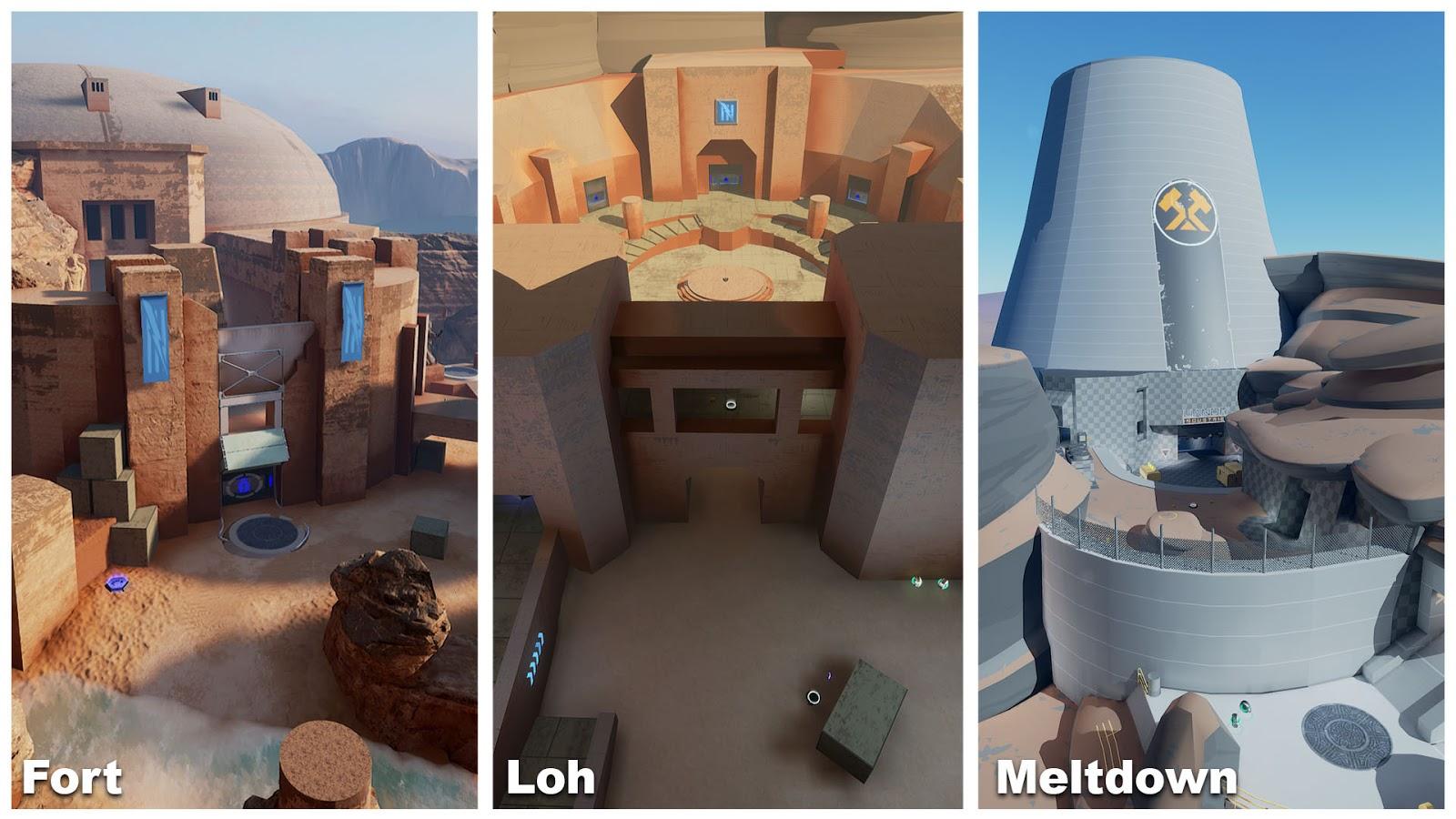 Unreal Tournament Blitz Level Design