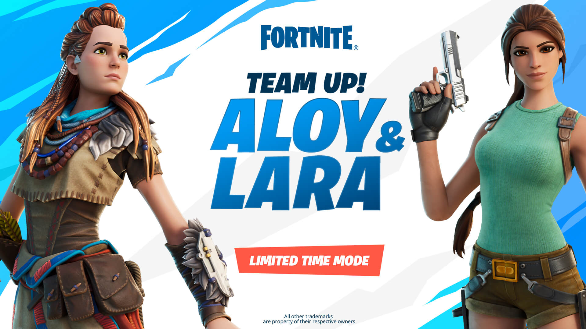 Aloy Lara Croft Team Up LTM