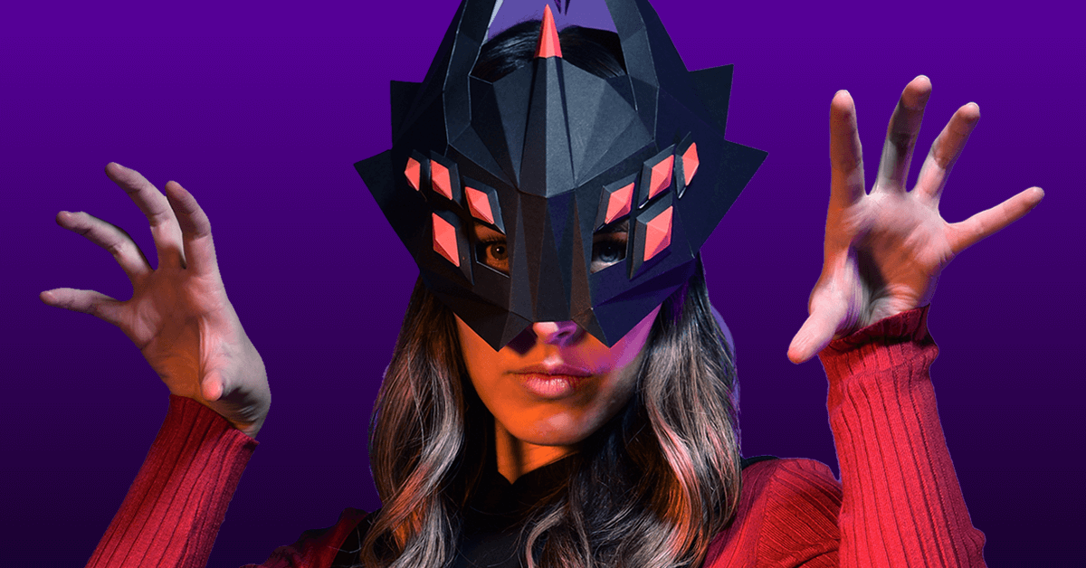 Máscara de Aracne