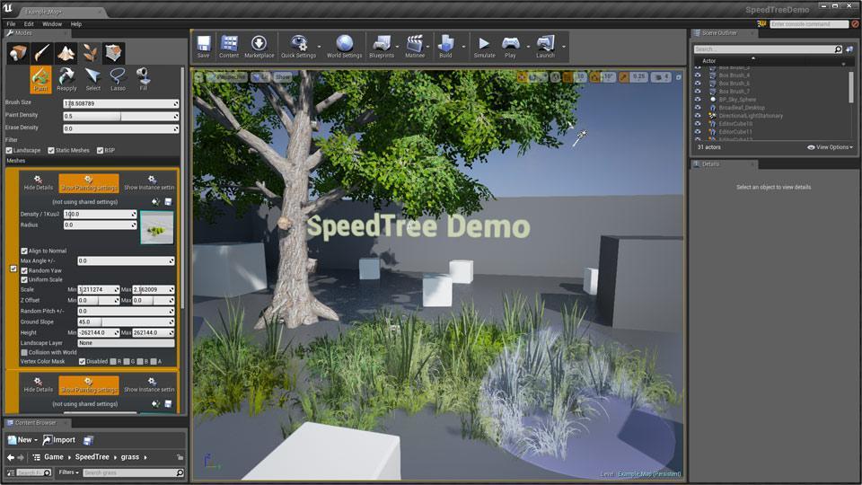 SpeedTree 7 Demo