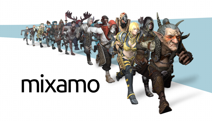 Mixamo Character pack