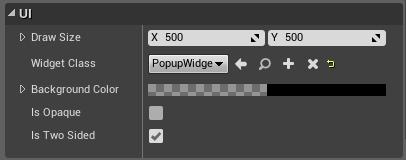Widget Components