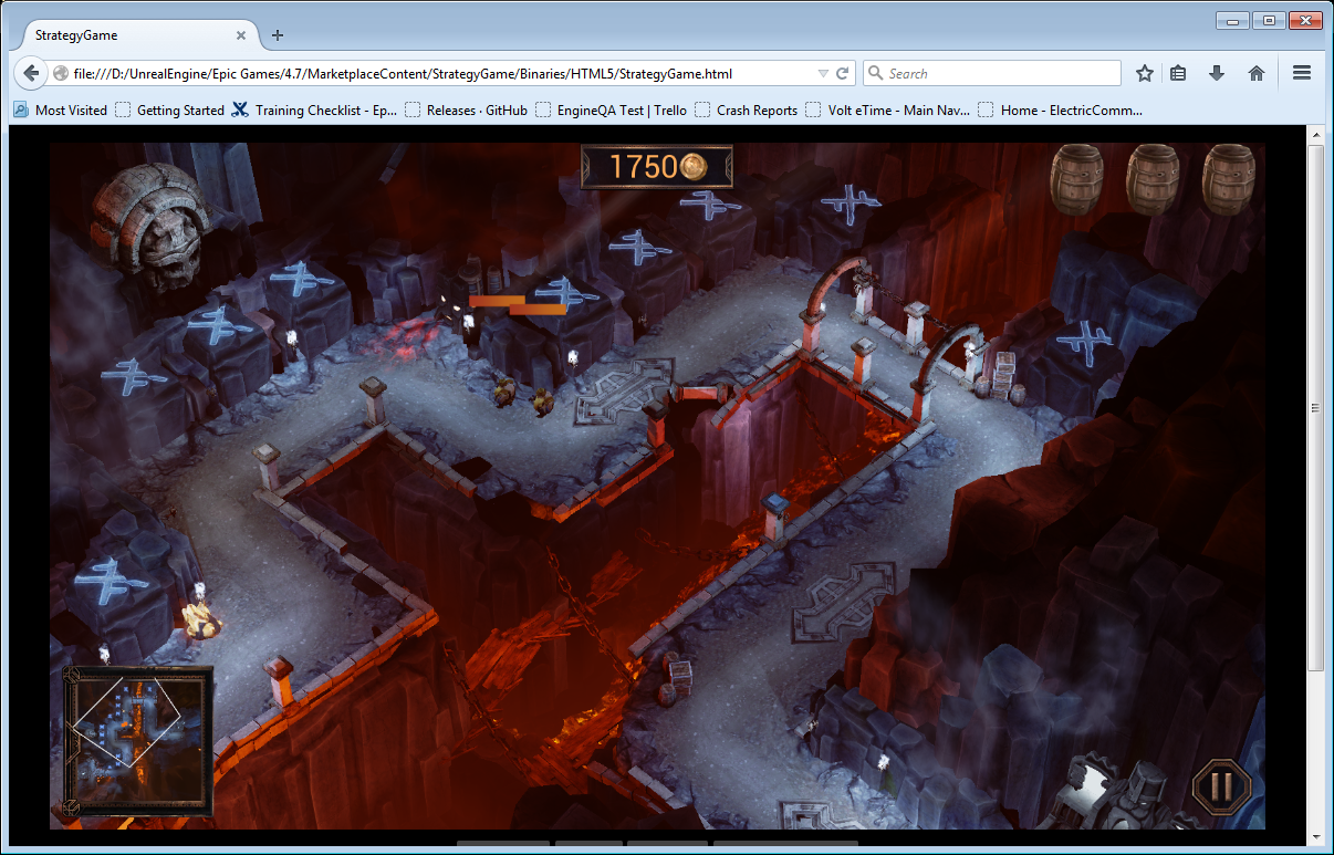 HTML5 and WebGL Support