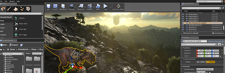 ARK: Survival Evolved Now Open To Unreal Engine 4 Modding