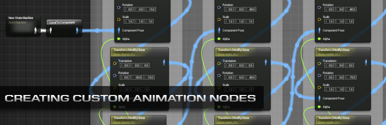 Creating Custom Animation Nodes