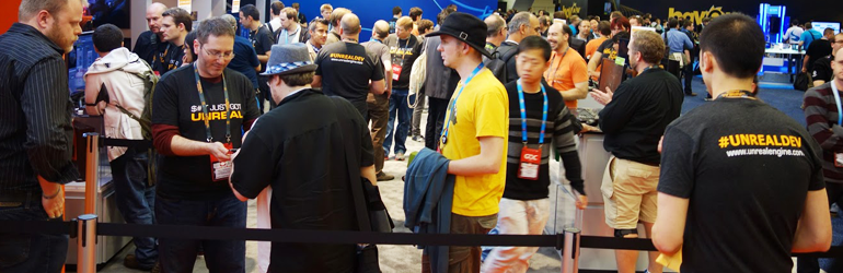 Unreal Booth at GDC 2014