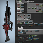 Realistic Blueprint Weapons by Black Works