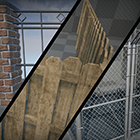Spline-Enabled Fence Pack by HostileAssets