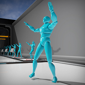 Kinect 4 Unreal Example Levels by Opaque Multimedia