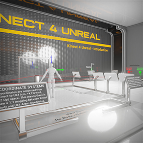 Kinect 4 Unreal Introduction by Opaque Multimedia