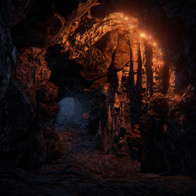 Underworld: Cave Environment by Manufactura K4