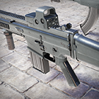 Weapon Pack: Assault Rifles by PolyPixel