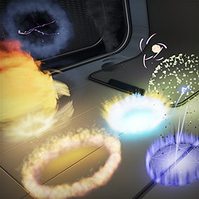 HD Particle Pack by DC
